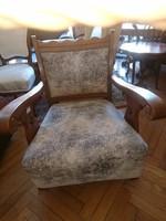 Renesans tölgy fotel eladó