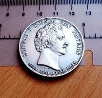 EXTRA SZÉP LUDWIG BAYOR EMLÉKÉRME U.V. 1835 X EINE FEINE MARCK