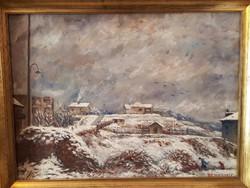 Haranglábi Nemes József / Téli táj