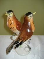 Ens Volksedt porcelán páros madár figura