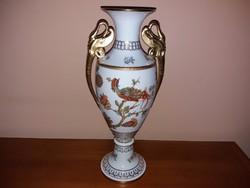 Makulátlan Limitált Herendi Mester-váza 44cm!