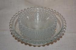Bütykös üveg kompótos készlet   ( DBZ 0067 )