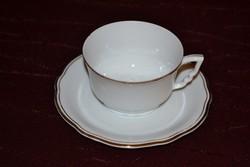 1 db aranytollazott manó füles Zsolnay teás csésze + alja    ( DBZ 0076 )