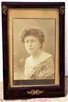 Antik Szecessziós Jugendstil asztali fénykép tartó kívül 24x16cm belső 19x13cm