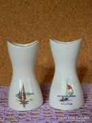 Aquincumi Balaton váza 2 db.