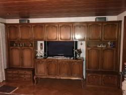 Warrings nagy nappali 8 egységes szekrény 430x220x45cm