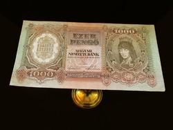 1000 PENGŐS - 1943-BÓL - IGAZÍ GYÖNYÖRŰSÉG