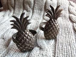 2 db ananászos szalvétagyűrű