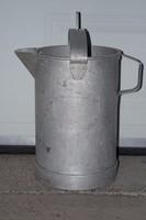 Régi ritka alumínium 15 literes úszós tej mérő az 50-es évekből