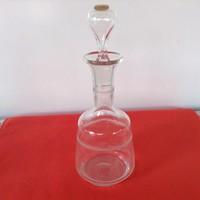 Antik üveg palack 5 dl. koronás jelzéssel