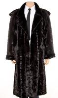"""RENDKIVÜLI Férfi nerc SZŐRME kabát bunda XL igényes luxus termék  """" MACSÓ """" SZABÁS"""