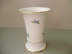 Antik Höchst porcelán nefelejcses váza