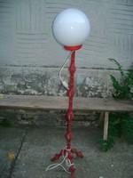 Art deco állólámpa - csavart fém váz