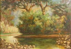 Bede I. jelzéssel : Vízparti táj