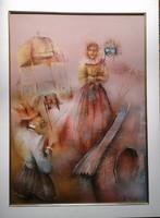 Várkonyi János festmény
