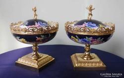 Szépséges kézi festésű porcelánok