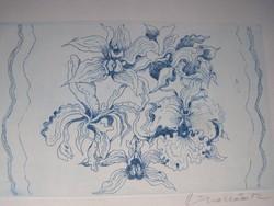 Ábrahám Rafael (1929 - 2014)  Orchideák