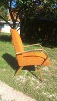 Csehszlovák Jindrich Halabala design retro fotel