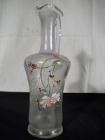 AB39 Fújtüveg karaffa 1800-as évekből