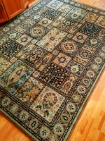 Hibátlan,gyönyörű gyapjú perzsa szőnyeg 170x245-cm
