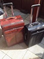 2 Db. Montblanc Mont-Blanc gurulós bőrönd