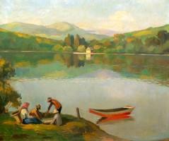 Balla Béla: A Bódi-tó Felsőbányán