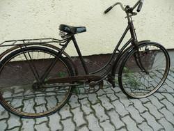 """Antik női Weiss Manfréd """"28-as bicikli az 1920-30-as évekből eladó"""