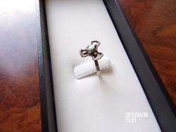 Ezüst gyűrű abalonéval