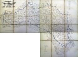 Galícia és Lodoméria térképe