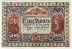 1000 Máriás 1922 tervezet replika