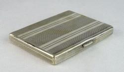 0N611 Antik ezüst cigaretta tárca dózni 115g