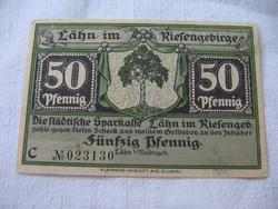50 Pfennig 1921 Flemming Hajtatlan