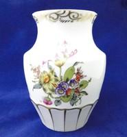 N150 Régi Herendi virágmintás váza