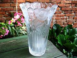 BORGONOVO ITALY kristály váza