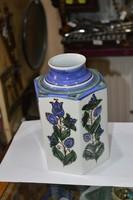 Habán utánzat kerámia váza
