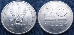 Magyar 20 fillér 1991
