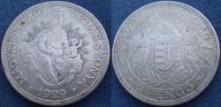 2 pengő 1929   Ag ezüst