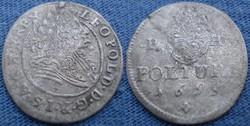 Leopold  Poltura  1699   Ag ezüst