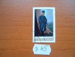 ROMÁNIA 1,50 LEI 1971 Tudor Vladimirescu születésének 150-ik évfordulója,1780-1821D45