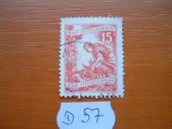 JUGOSZLÁVIA 15 DINÁR 1951- FARMER NAPRAFORGÓARATÁS D57