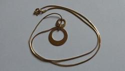 Ezüst aranyozott nyaklánc 3,89 gramm