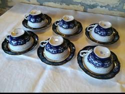 Zsolnay pompadour II teás csészék
