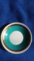 Hollóházi porcelán kávéscsészéhez alátét tányér