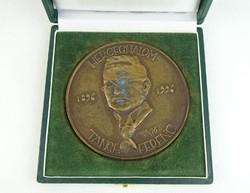 0N395 Melocco Miklós : Tangl Ferenc bronz plakett