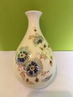 Zsolnay váza virágmintás 11 cm-es - Hibátlan