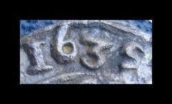 DÉNAR 1635 KB   Ag ezüst  forditott 5  RITKA