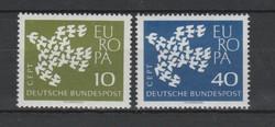 EUROPA-CEPT Németország 1961 postatisztán (Kat.: 0,80 Euro) (155)