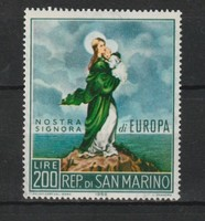 EUROPA-CEPT San Marino 1966 postatisztán (Kat.: 0,60 Euro) (168)