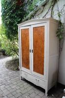 Neobarokk vintage provence festett szekrény
