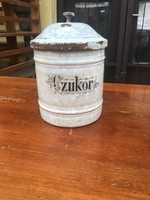 Antik cukortartó doboz
